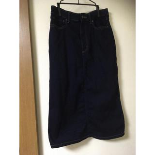 ユニクロ(UNIQLO)のUNIQLO ジャージーデニムスカート サイズ67(その他)