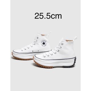 コンバース(CONVERSE)の新品 Converse Run Star Hike ホワイト25.5cm(スニーカー)