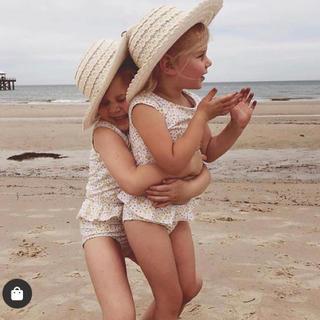 キャラメルベビー&チャイルド(Caramel baby&child )のdotdot swim 水着 キッズ 1-2y 花柄 スイムウェア(水着)