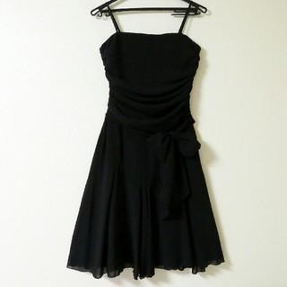 ロートレアモン(LAUTREAMONT)の結婚式やパーティーに☆ ロートレアモン ワンピース ドレス /黒・M(ミディアムドレス)