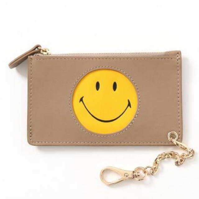 DEUXIEME CLASSE(ドゥーズィエムクラス)のドゥーズィーエムクラスGOOD GRIEF SMILE スマイル コインパース レディースのファッション小物(コインケース)の商品写真