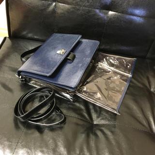 エムエムシックス(MM6)のMM6 本革 ハンドバック(ハンドバッグ)