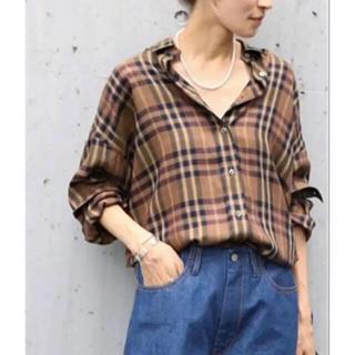 フレームワーク(FRAMeWORK)の完売品 フレームワーク チェックシャツ 定価15120(シャツ/ブラウス(長袖/七分))