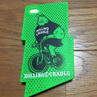 ローリングクレイドル(ROLLING CRADLE)のROLLING CRADLE ロリクレ candies コラボスマホカバー(iPhoneケース)