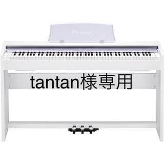 カシオ(CASIO)のCASIO Privia 電子ピアノ ホワイト 椅子付き(電子ピアノ)