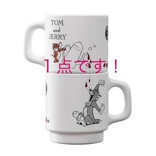 タリーズコーヒー(TULLY'S COFFEE)のTully's Coffee タリーズ トムとジェリー コラボ  マグカップ1点(ノベルティグッズ)
