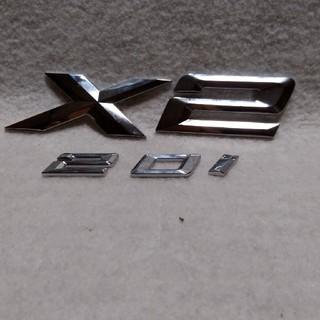 ビーエムダブリュー(BMW)の※BMW「X2」純正ゲートエンブレム(車内アクセサリ)