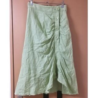 ミラオーウェン(Mila Owen)のMila Owen(ミラ オーウェン)ギャザースカート(ひざ丈スカート)
