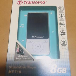 トランセンド(Transcend)のトランセンド デジタルミュージックプレイヤー ほぼ未使用(ポータブルプレーヤー)