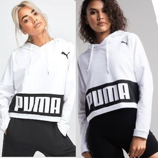 PUMA - Puma プーマ ドライセル フードパーカー ブランドロゴ メッシュフード