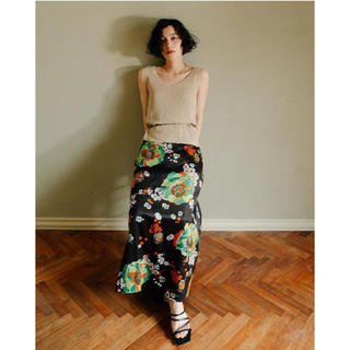 エディットフォールル(EDIT.FOR LULU)のMARTE vintage flower skirt (ロングスカート)