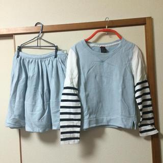 ダブルスタンダードクロージング(DOUBLE STANDARD CLOTHING)のスウェット セットアップ(トレーナー/スウェット)