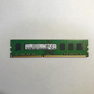 SAMSUNG - デスクトップPC用 メモリ PC3L-12800(DDR3L-1600) 8GB