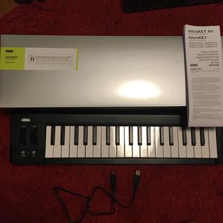 コルグ(KORG)のkorg microkey2-37 midiキーボード(MIDIコントローラー)