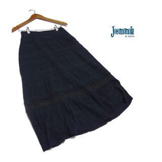 ホコモモラ(Jocomomola)のお値下げ■Jocomomola/ホコモモラ■ M位 切り替えフレアースカート(ロングスカート)