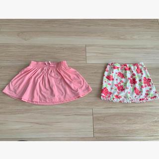 【JANIE AND JACK・UNIQLO】新品スカート2点セット 80-90