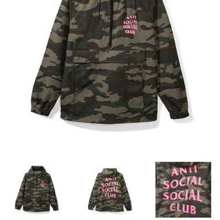 アンチ(ANTI)のanti social social club ez jacket アノラック(マウンテンパーカー)
