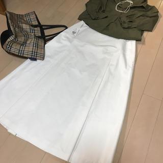 バーバリー(BURBERRY)の週末限定お値下げ 新品タグ付 バーバリーロングスカート(ロングスカート)