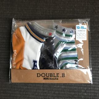 DOUBLE.B - 【DOUBLE_B】男の子 靴下 13-15