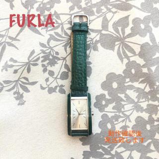 Furla - フルラ 革の腕時計
