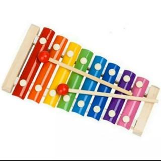 木のおもちゃ 木琴 楽器 鉄琴 知育玩具