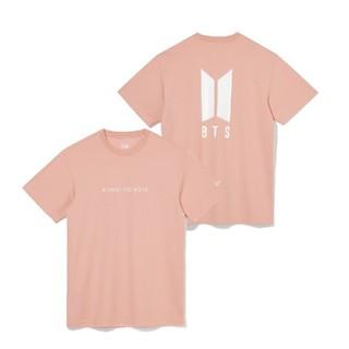 ボウダンショウネンダン(防弾少年団(BTS))のNEW ERA Tシャツ BTS BEYOND THE SCENE ローズ M(Tシャツ/カットソー(半袖/袖なし))