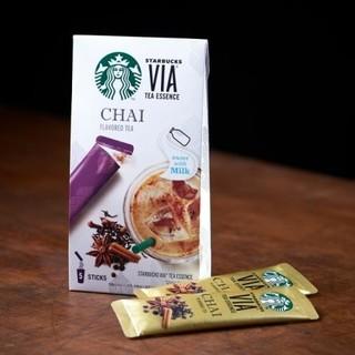 Starbucks Coffee - スターバックス VIA ヴィア ティーエッセンス チャイ 10本 スタバ ヴイア