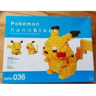 ポケモン(ポケモン)のnanoblock Pokémon ピカチュウDX(模型/プラモデル)