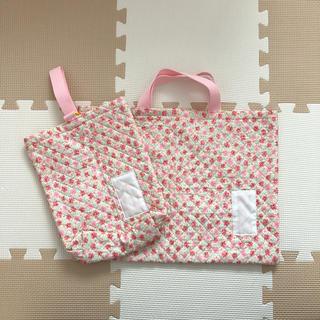 シマムラ(しまむら)の新品未使用 レッスンバッグ&シューズバッグセット☆(レッスンバッグ)