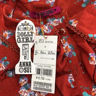 ドーリーガールバイアナスイ(DOLLY GIRL BY ANNA SUI)のタグ付き ドーリーガール ブラウス(シャツ/ブラウス(半袖/袖なし))