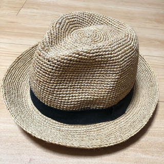 ムジルシリョウヒン(MUJI (無印良品))の無印良品 中折れハット(麦わら帽子/ストローハット)