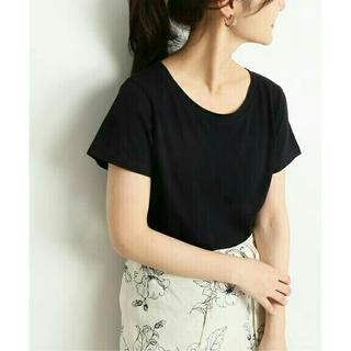 イエナスローブ(IENA SLOBE)の『SLOBE IENA』ペルビアンコットンクルーネックTシャツ(Tシャツ(半袖/袖なし))