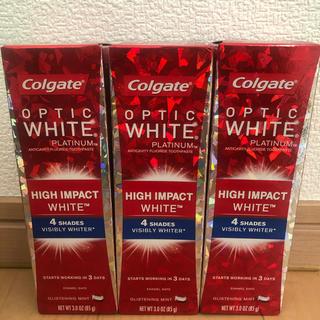 コルゲート ハイインパクト White  85g OPTIC WHITE(歯磨き粉)