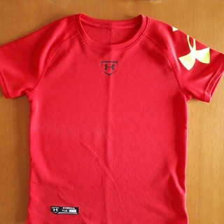 UNDER ARMOUR - アンダーアーマー ベースボールシャツ(YLG)150㎝(最終値下げ)