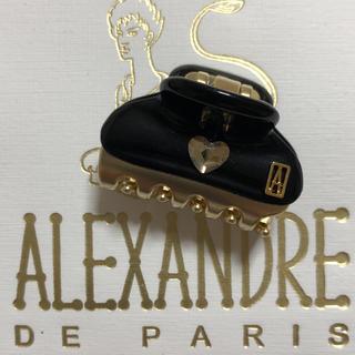 アレクサンドルドゥパリ(Alexandre de Paris)のじょりぽん♪様専用 新品 アレクサンドルドゥパリ  ハート💕クリップ 3㎝(バレッタ/ヘアクリップ)