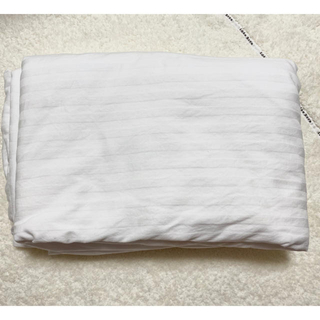 ニトリ(ニトリ)のダブル掛け布団カバー ニトリ ホテルスタイル ホワイト(シーツ/カバー)