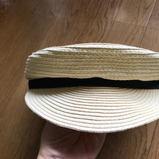 ジーユー(GU)のキッズ 女児 キャスケット帽子(帽子)
