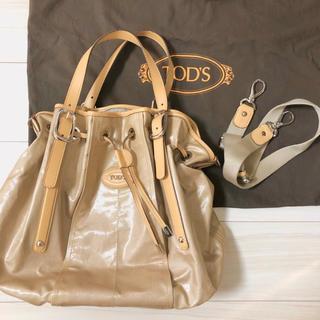トッズ(TOD'S)の美品 TOD'S トッズ  2way ハンドバッグ ショルダーバッグ(ショルダーバッグ)