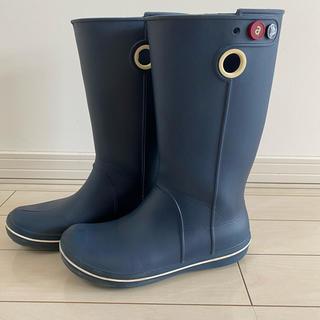 クロックス(crocs)のクロックス✨レインブーツ☂️レディース24cm(レインブーツ/長靴)