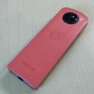 リコー(RICOH)の【360°カメラ】RICOH THETA SC リコー シータ ピンク(コンパクトデジタルカメラ)