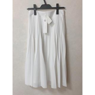 ラグナムーン(LagunaMoon)の新品laguna moonプリーツスカート(ひざ丈スカート)