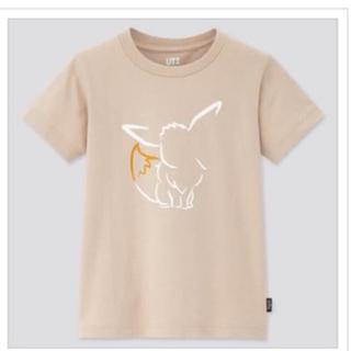 ユニクロ(UNIQLO)のユニクロ 120 ポケモン イーブイ Tシャツ(Tシャツ/カットソー)