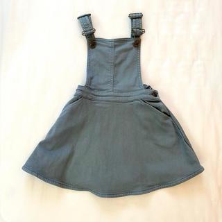 キャラメルベビー&チャイルド(Caramel baby&child )のBONTON カーキジャンパースカート 4Y(スカート)
