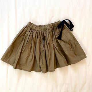 キャラメルベビー&チャイルド(Caramel baby&child )のCARAMEL ギャザースカート 4Y(スカート)