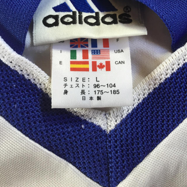 adidas(アディダス)のサッカー練習着 長袖 スポーツ/アウトドアのサッカー/フットサル(ウェア)の商品写真