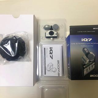 ズーム(Zoom)のzoom IQ7  iPhone用マイク(その他)