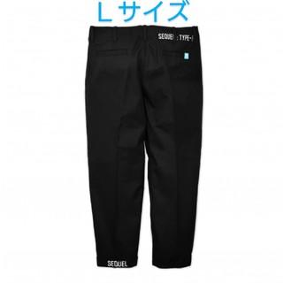 フラグメント(FRAGMENT)のSEQUEL CHINO PANTS BLACK SQ-206-PANTS-15(チノパン)