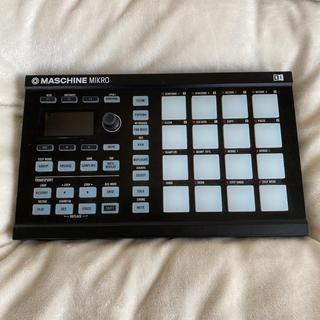 NI maschine mikro 本体のみ(MIDIコントローラー)