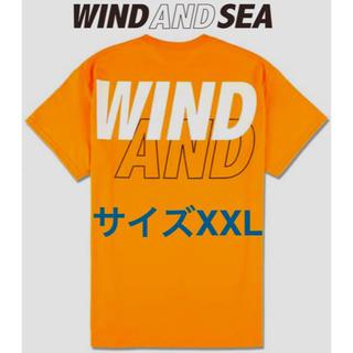 シュプリーム(Supreme)の【超レアサイズXXL】WIND AND SEA:ロゴ Tシャツ (Tシャツ/カットソー(半袖/袖なし))