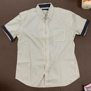 RAGEBLUE - Rage blue 夏っぽい水玉の半袖シャツ